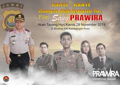 Sang Prawira Rilis 28 November 2019, Film Tentang Polisi yang Berani dan Tangguh