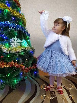 """Новогоднее болеро """"Снежинка""""  , описание"""