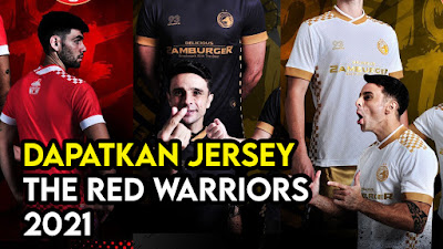 Jersey The Red Warriors 2021