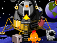 PencilKids - Monkey Go Happy Stage 337: Apollo 11, 50th Anniversary