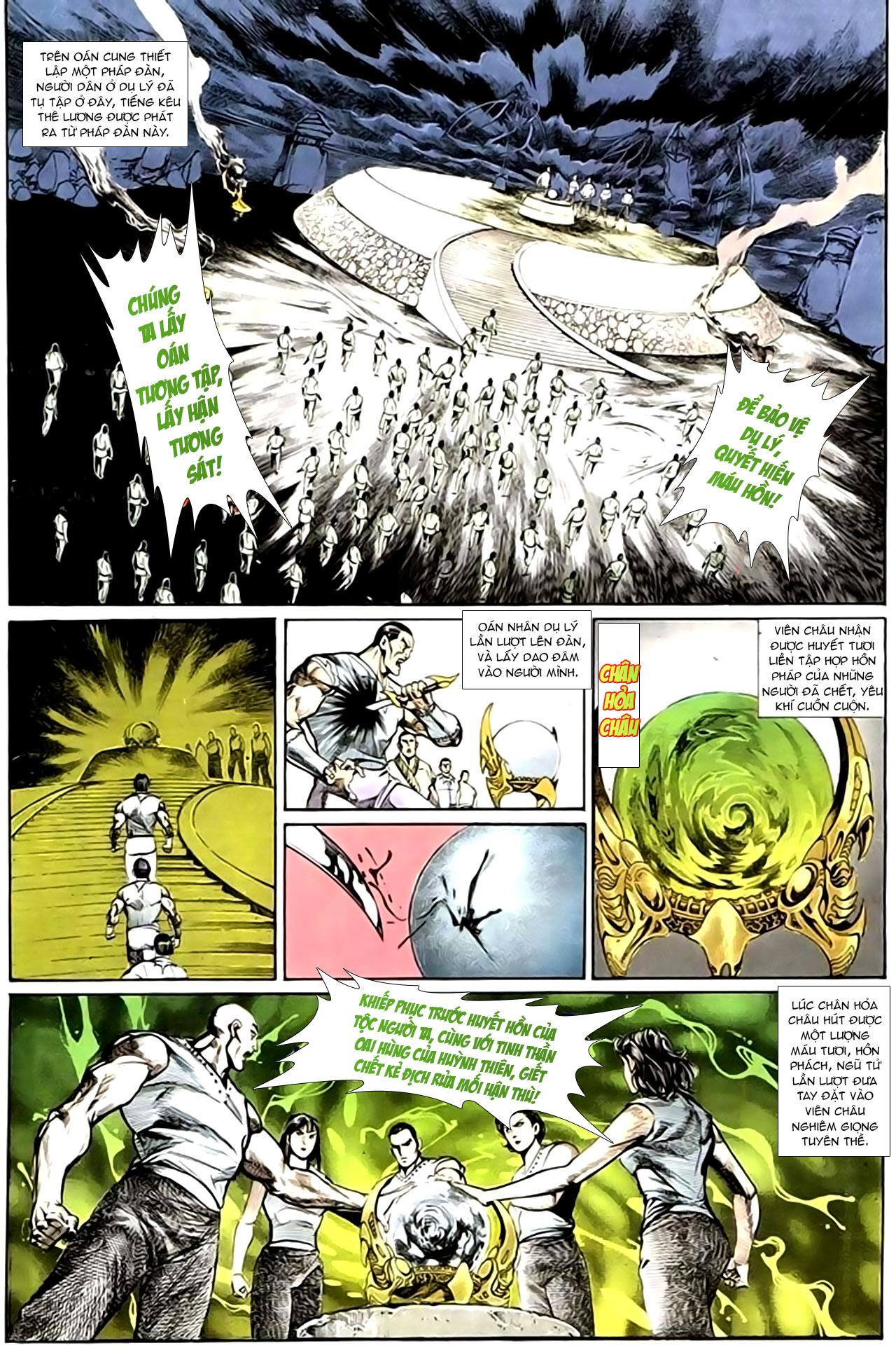 Cơ Phát Khai Chu Bản chapter 134 trang 14