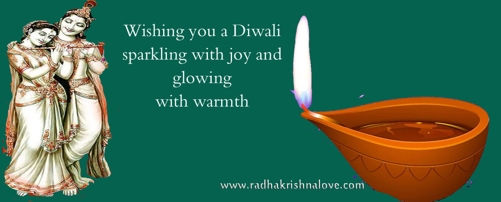 Diwali Radha Krishna Images