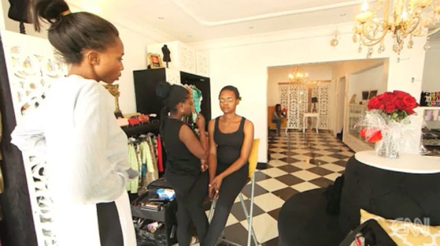 photo of olajumoke orisaguna the bread seller cnn interview
