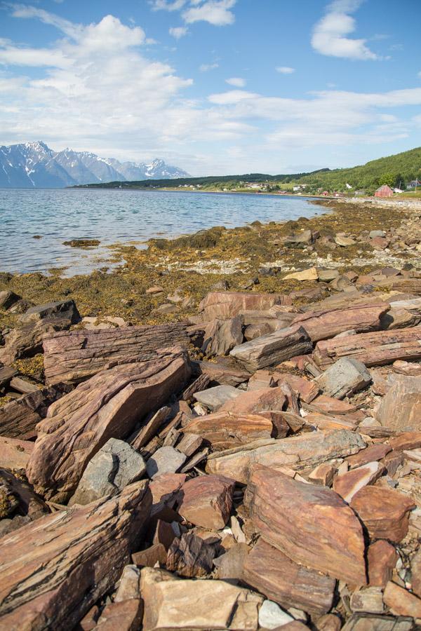 Vuonomaisema Pohjois-Norjassa