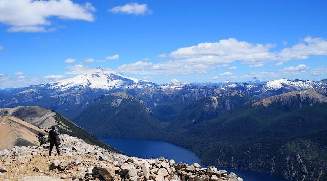 Vista, cerro tronador, osrno, volcan, brazo tristeza, bariloche, Pico turista