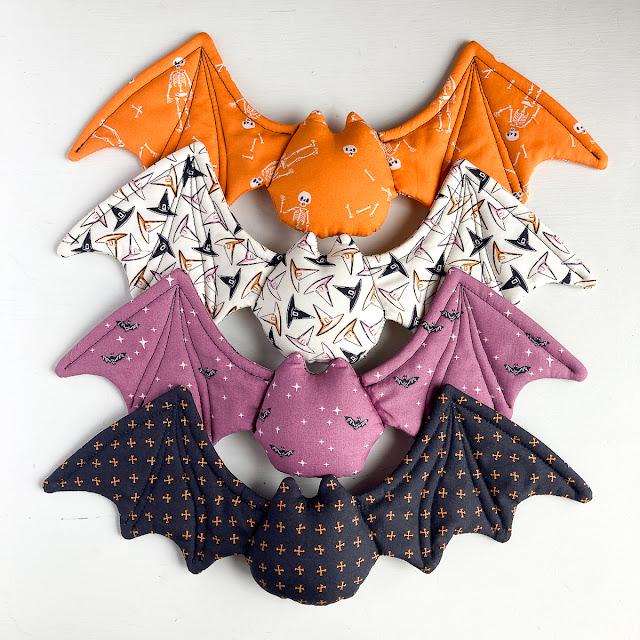 Halloween Bat sewing pattern