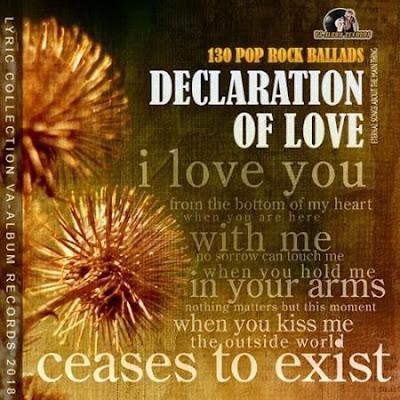 Declaration Of Love Pop Rock Ballads 2018 Mp3 320 Kbps