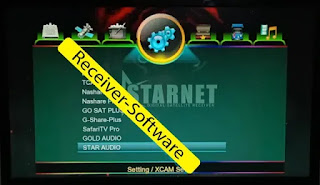 Starnet Q999 1507g Software Star Audio & Gold Audio Option