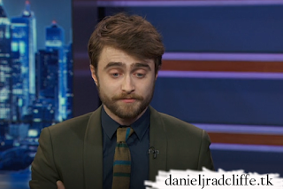Daniel Radcliffe on The Daily Show with Trevor Noah