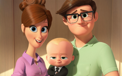 "Interview with the director and producer of ""The Boss Baby."""