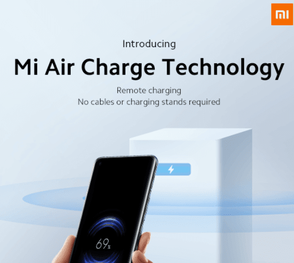 Xiaomi Introduces Air Charge Future Technology