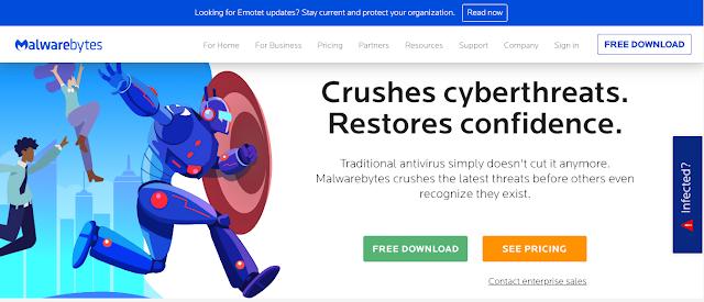Antivirus Gratis Terbaik Yang Ringan Untuk Laptop - Malwaarebytes free antivirus