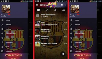 BBM MOD Barcelona v2.10.0.35 Apk(Clone