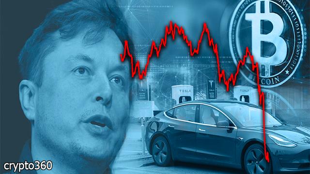 Bitcoin plummets as Elon Musk