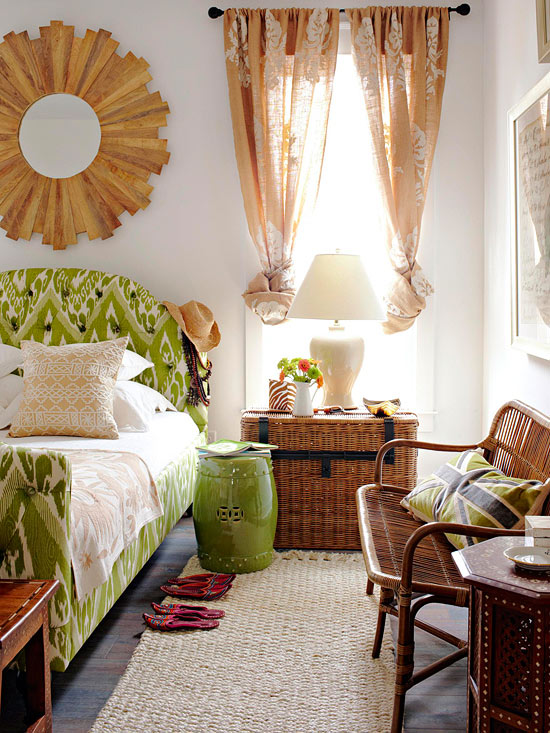 Modern Bedroom Decorating With Summer Color 2013 New Ideas ...