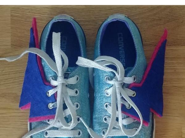 #Tuto : Des chaussures de Super Héros