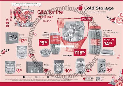 Cold Storage CNY Festive Gifts Promotion 10 - 16 January 2020 ~ Supermarket Promotions