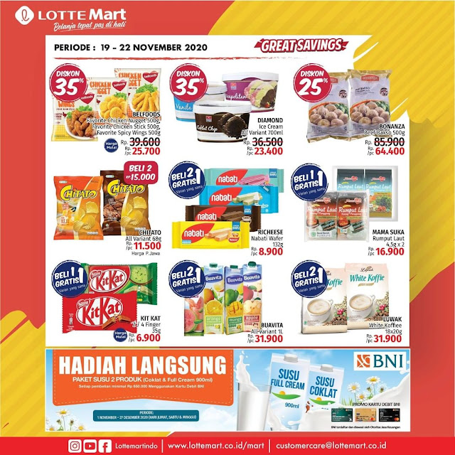 Katalog Promo Weekend LOTTEMART Periode 19 - 22 November 2020