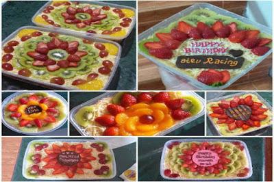 Lembang Fruit Salad - Enak Dan Bisa Requet Varian Buahnya