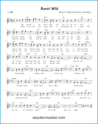 Runnin 'Wild chords jazz standar