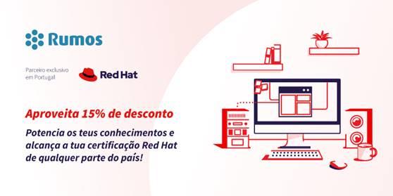 COMEÇOU A CAMPANHA EM RED HAT DA RUMOS