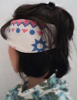 Fleece Headband Ear Warmer crafted by eSheep Designs