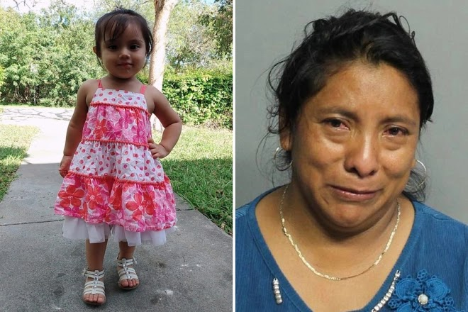 HOT CAR DEATH Miami woman is arrestered after leaving girl, 2, in a car for SEVEN HOURS instead of taking her to daycare
