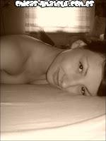 Vanessa en blanco y negro
