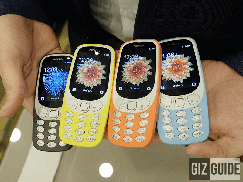 Nokia Announces 3310 With 3G, Might Launch In PH Tomorrow Too!