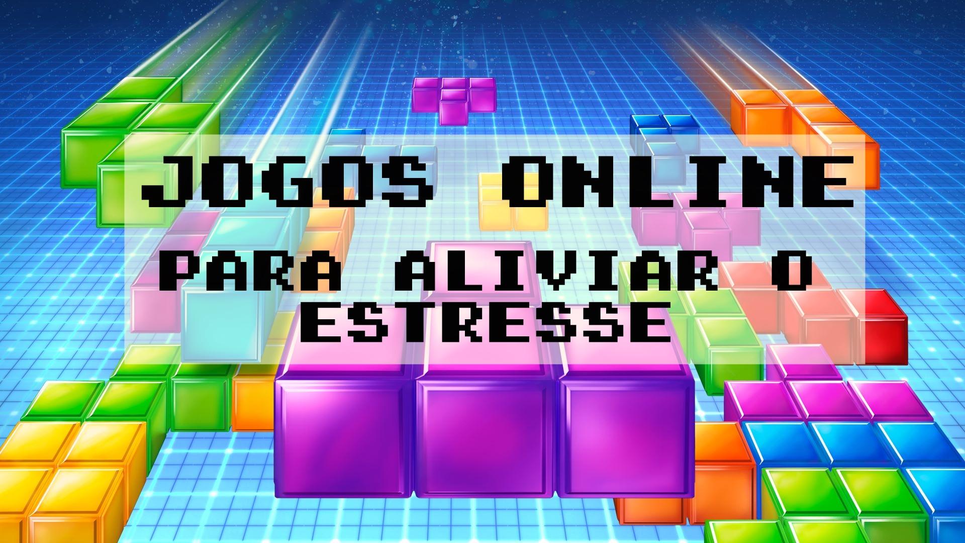 jogos online para reduzir o estresse