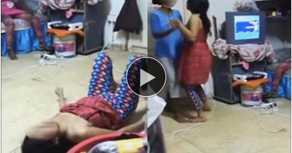 नशे में धुत लड़कियों का हॉस्टल में आपत्तिजनक वीडियो हुआ वायरल...