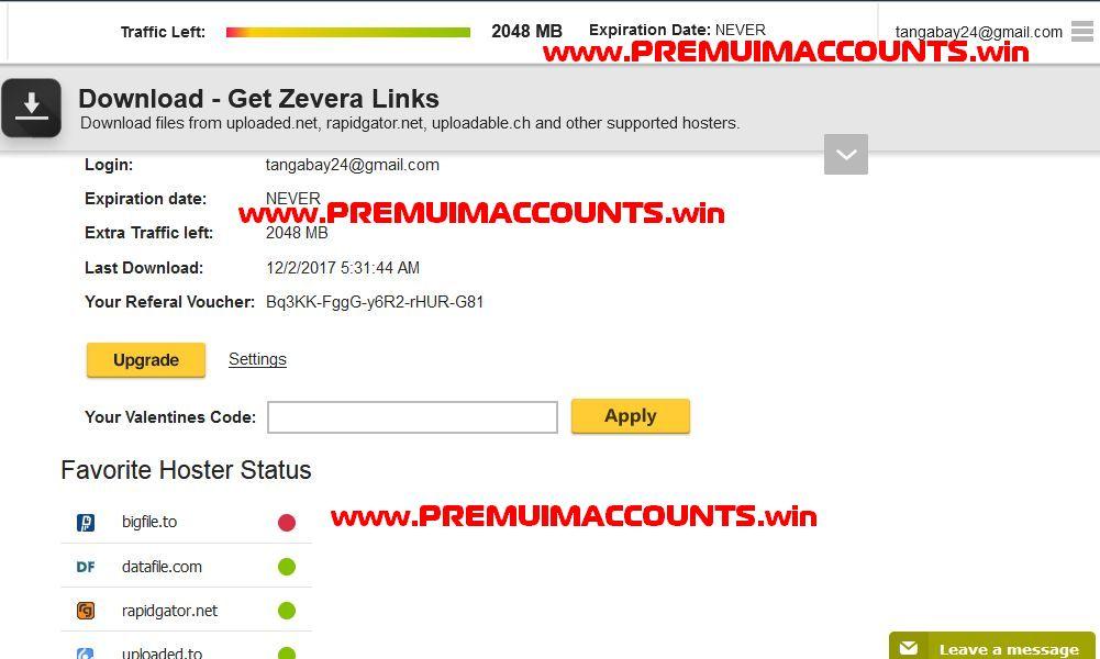 FilesMonster Premium link Generator Premium Accounts t