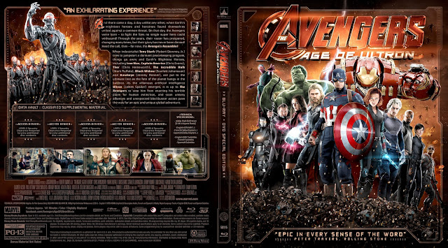 Capa Bluray The Avengers Age Of Ultron