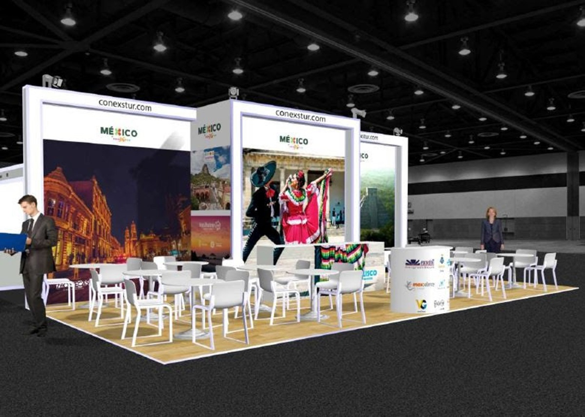 MÉXICO PRESENCIA WORLD TRAVEL MARKET PABELLONES 1