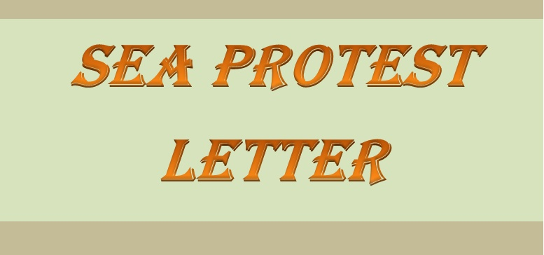 protest letter