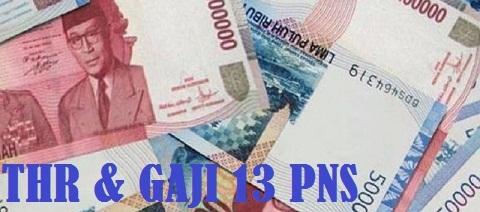 THR PNS dan Gaji Ke-13 ASN (PNS) Tahun 2020