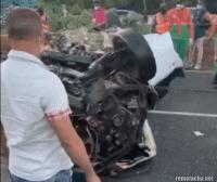 Accidente deja 2 muertos y 4 heridos en autopista 6 de Noviembre-VIDEO