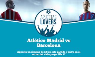 paf apuesta Atlético Madrid vs Barcelona sorteo Fifa17