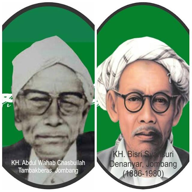 Kyai Wahab Hasbullah dan Kyai Bisri Syansuri, Selalu Beda Bendapat tapi Selalu Saling Menghormati