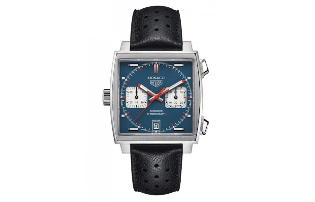 Tag Heuer Monaco Automatic Denim Blue Dial Men's Watch Replica CAW211P.FC6356