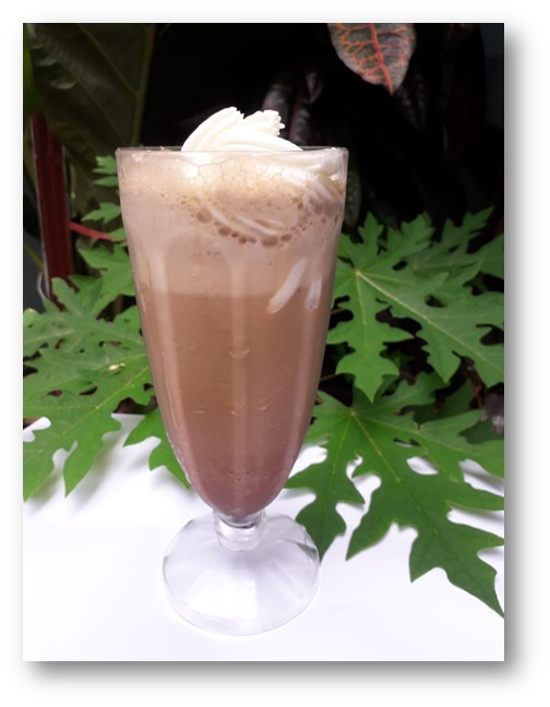 Resep Ice Coffee Cappuccino Blended Spesial Ramadan