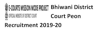 Bhiwani District Court Peon Old Question Papers