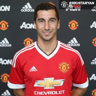 Manchester United Umumkan Transfer Henrikh Mkhitaryan
