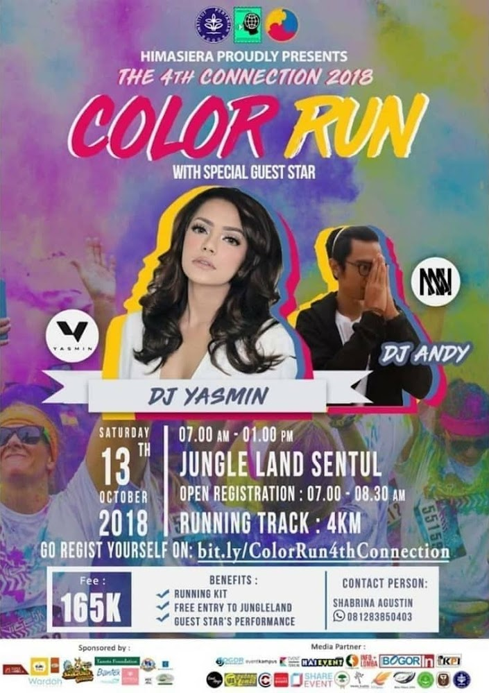 Color Run The 4th Connection • 2018