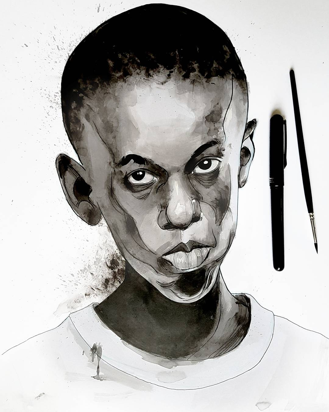 Moonlight Movie illustration