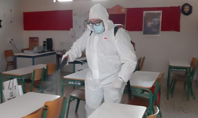 Κρούσματα σε 60 σχολεία σε όλη την Ελλάδα μέσα σε 10 μόλις μέρες από το άνοιγμα τους