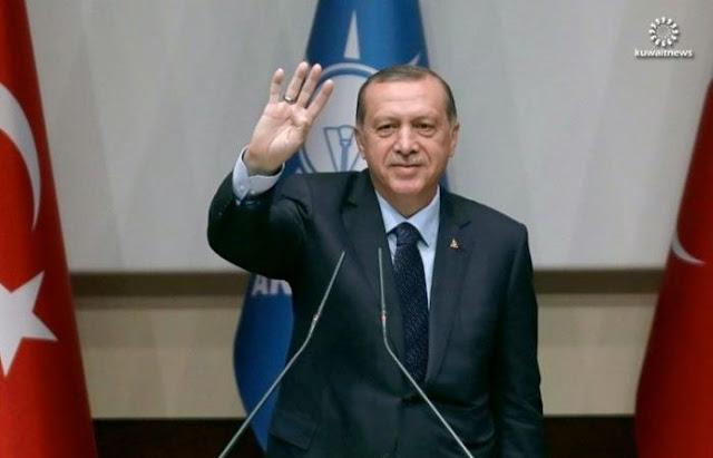 أردوغان يعود إلى حزب العدالة والتنمية الإسلامى