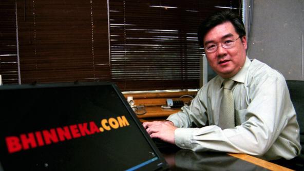 Hendrik Tio – Pendiri Bhinneka.com, Website Ecommerce Terbesar Di Indonesia