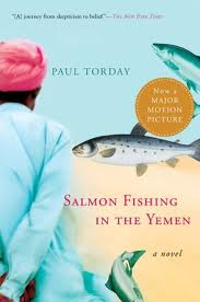 Salmon Fishing in the Yemen by Paul Torday, book cover