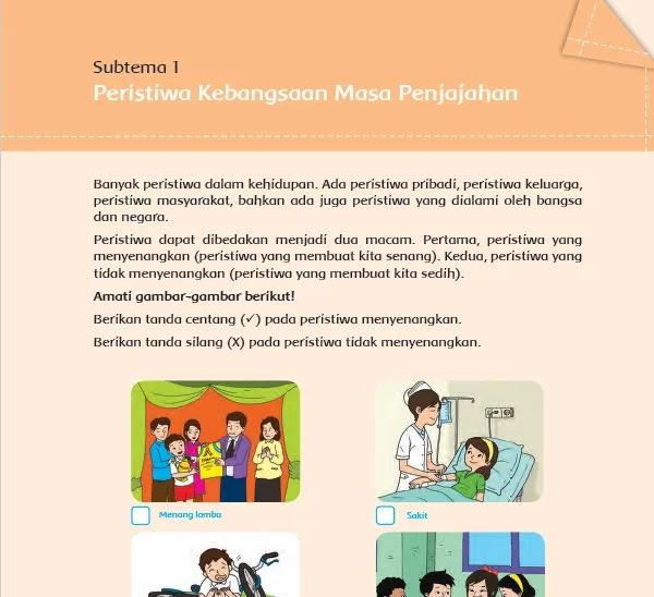 Kunci Jawaban Buku Tematik 7 Kelas 5